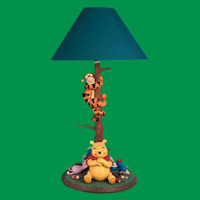 Winnie the pooh with lamp winnie the pooh with lampg mozeypictures Images